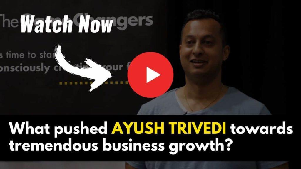 ayush testimonial - the game changers